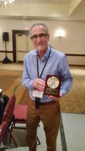 Wally Dammann, CCP Receiving Life Member Award Orlando 2015